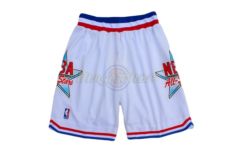 Pantaloni Basket 1992 All Star Bianco