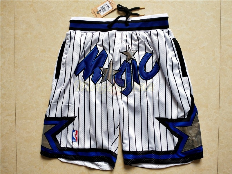 Pantaloni Basket Orlando Magic Bianco