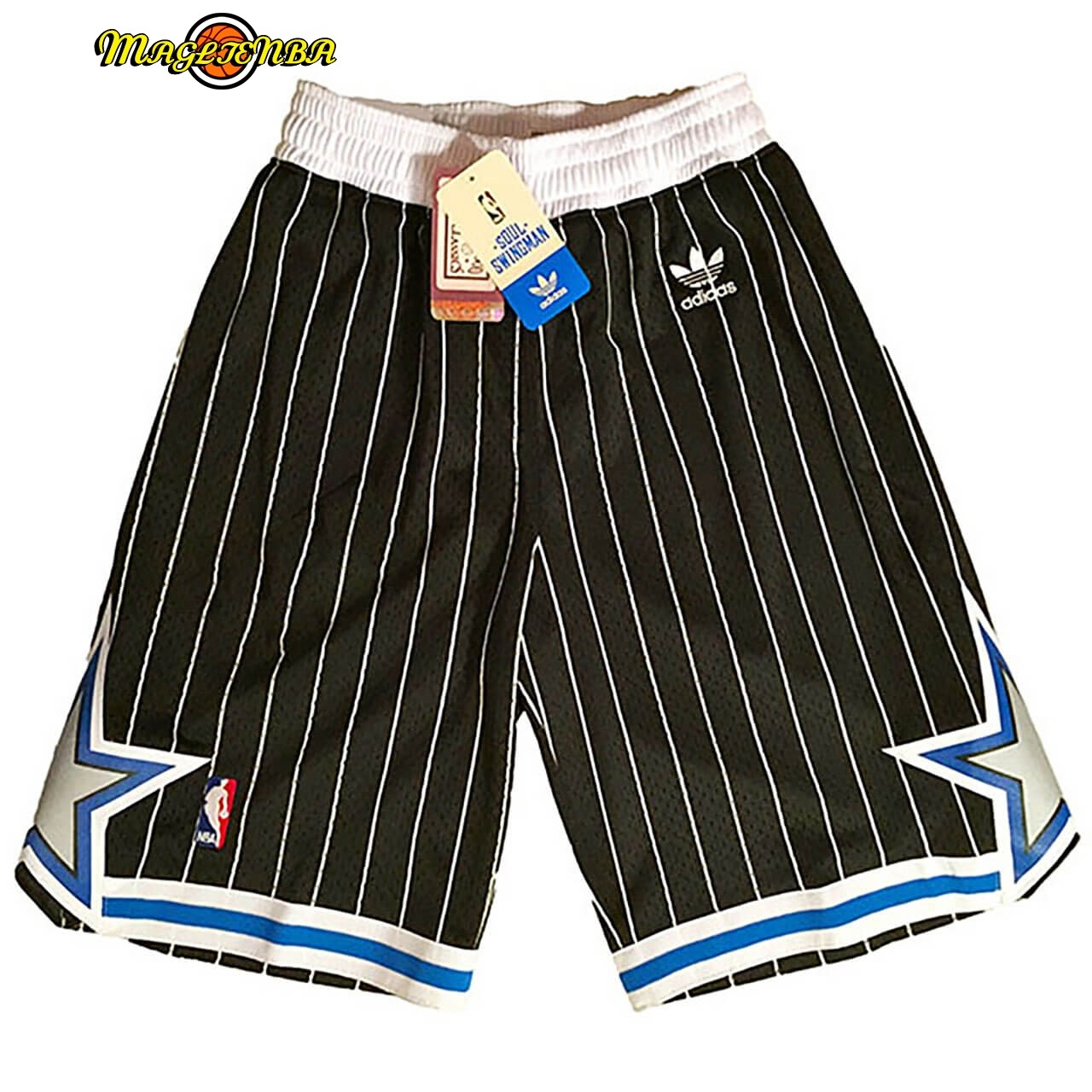 Pantaloni Basket Orlando Magic Nike Nero